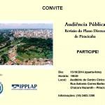Ipplap e Conselho da Cidade promovem audiência pública para discutir Plano Diretor