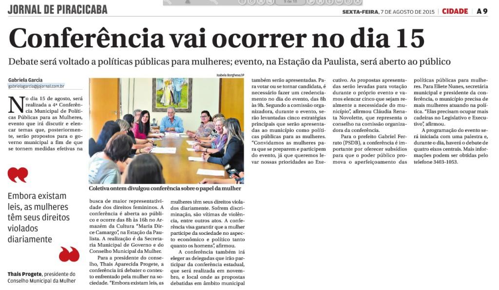 Conferência da Mulher Piracicaba 2015