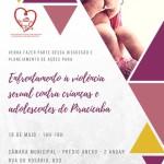 No dia 18/05/18 ás 14h, o CMDCA promove encontro para discutir o Enfrentamento á violência sexual contra crianças e adolescentes de Piracicaba