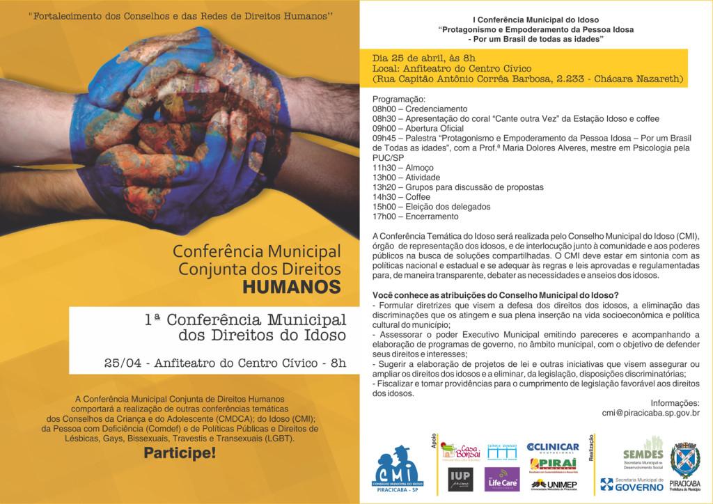 folheto conferencia IDOSO