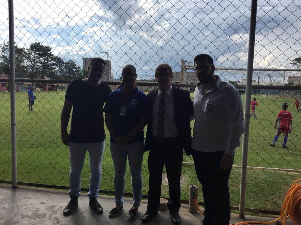 Conselheiros visitam a Associação Educando pelo Esporte para análise e conhecimento das atividades desenvolvidas.