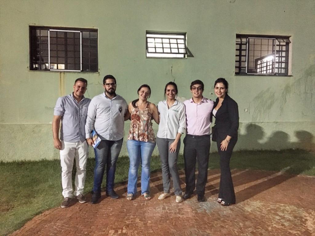 Conselho Municipal da Juventude visita a Casa do Bom Menino objetivados por conhecer a ONG e para apresentação do CMJ-PIRA.