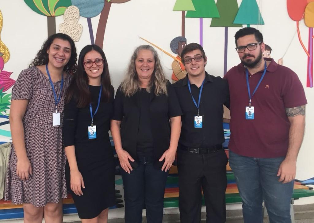 Conselho Municipal da Juventude visita o Centro Social Assistência Cultura Paróquia São José - CESAC objetivados por conhecer suas atividades e para apresentação do CMJ-PIRA.