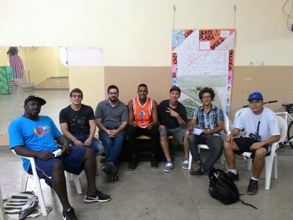 Conselheiros visitam a Casa de Cultura do Hip Hop objetivados por conhecer as atividades desenvolvidas e para apresentação do CMJ-PIRA.