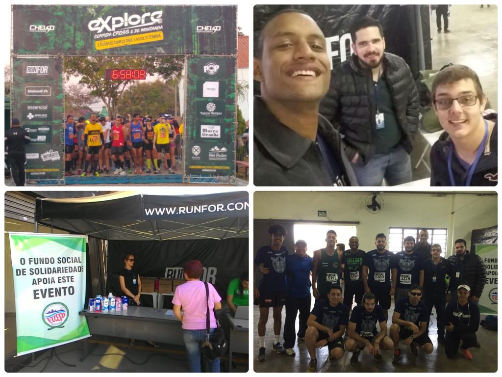"""O projeto """"Corrida Solidária"""", desenvolvido pelo CMJ-PIRA, participou da Corrida Explore, que aconteceu no dia 22/07/18 no Horto de Tupi."""