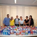 Conselho Municipal da Juventude, realizou no dia 26/07/2018 a entrega ao Fundo Social de 156 litros de leite, arrecadados através do projeto Corrida Solidária.