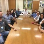 Membros do Conselho Municipal da Juventude, reuniram-se no dia 05/07/2018 com o Prefeito Barjas Negri e com o Vice-Prefeito e Secretário de Governo e Desenvolvimento Econômico, José Antonio de Godoy, com o objetivo de apresentar o projeto para execução da Semana da Juventude.