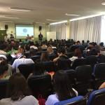 Palestra Educação Financeira (Projeto Pé de Meia), realizada na ETEC Cel. Fernando Febeliano da Costa,  no dia 31/08/18.