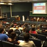 Palestra sobre Empreendedorismo, ocorrida no dia 28/08/18 na ESALQ.