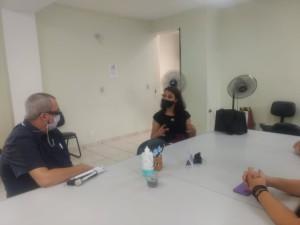 Comissão de Direito da Pessoa com Deficiência (CDPD) esteve em reunião com o Sr. Wander Viana Santos, Coordenador do Conselho Municipal de Proteção, Direitos e Desenvolvimento da Pessoa Com Deficiência