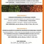 Sesc Sorocaba promove Mesas Redondas sobre Alimentação e Consumo Responsável