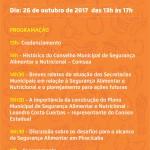 ENCONTRO COMSEA: Desafios da Segurança Alimentar e Nutricional em Piracicaba