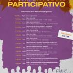Convidamos a todos os moradores de Piracicaba para participarem das Plenárias Regionais.