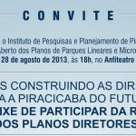 Ipplap realiza Fórum Aberto sobre Plano Diretor de Parques Lineares e Microcentralidades